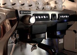 Siebtraegermaschine im Crazy Ape Coffee